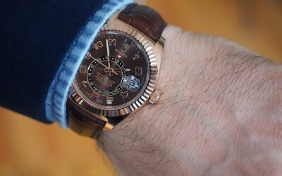 Sky-Dweller! It's the most complicated watch Rolex makes
